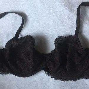 VS Black Unlined Demi Dream Angels 36DD